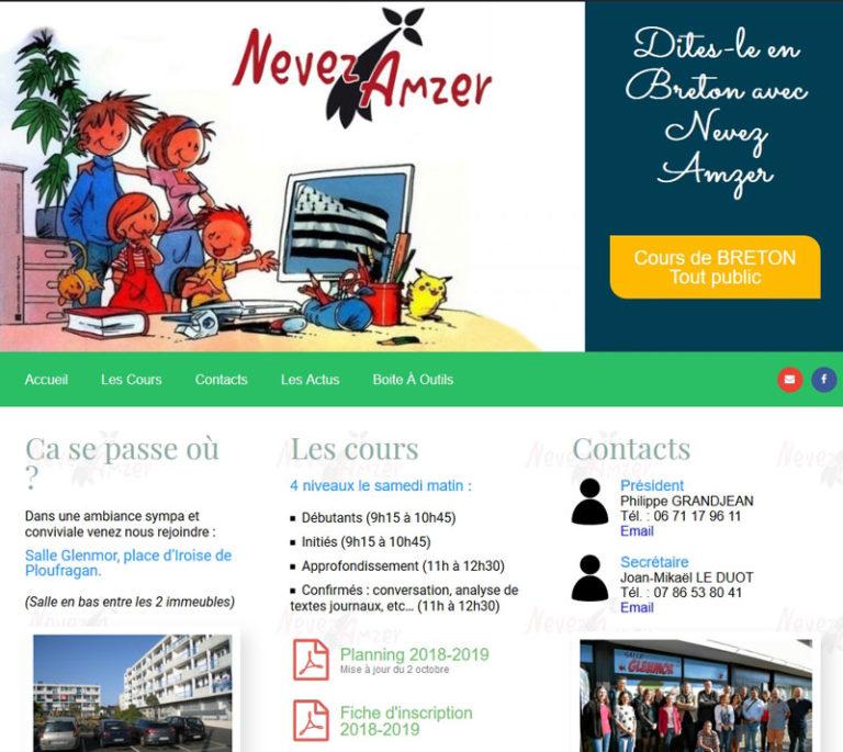 Nevez Amzer cours de Breton